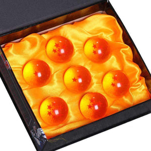 Coffret de 7 boules de cristal Dragon Ball