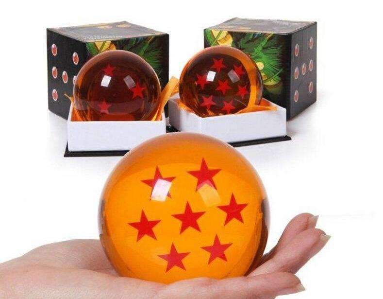 Boules de cristal Dragon Ball 7.5cm