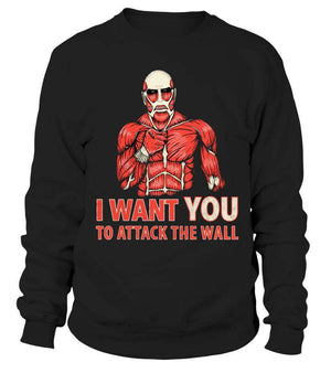 Pull Classique - Sweat Classique Attack On Titans Attack The Wall