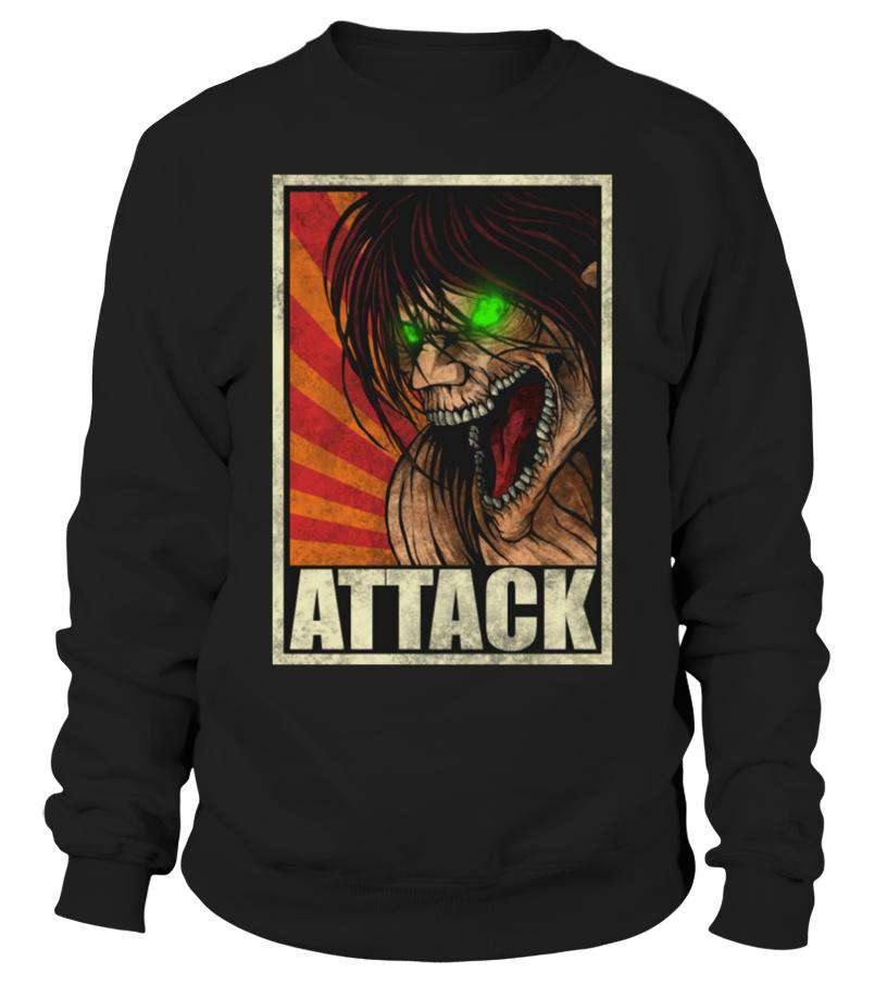 Pull Classique - Sweat Classique Attack On Titans Eren Titan