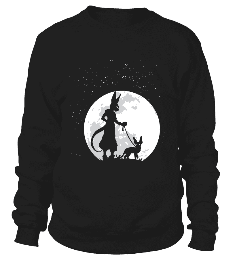 Pull Classique - Sweat Classique Dragon Ball Super Beerus Moon