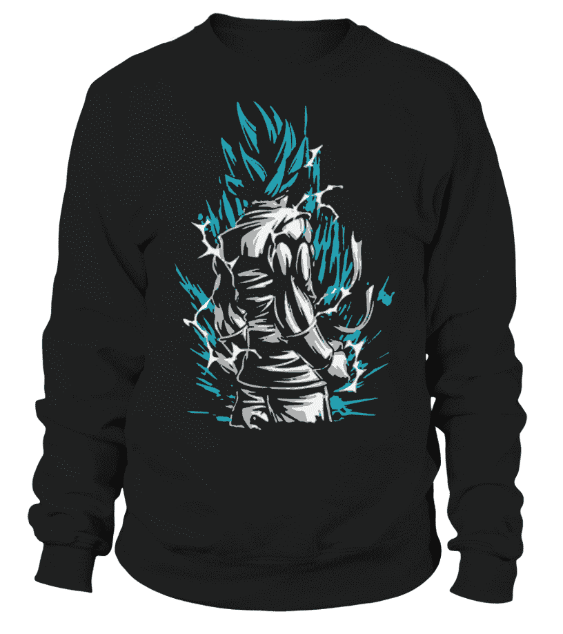 Pull Classique - Sweat Classique Dragon Ball Super Goku Blue God