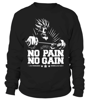 Pull Classique - Sweat Classique Dragon Ball Z No Pain No Gain
