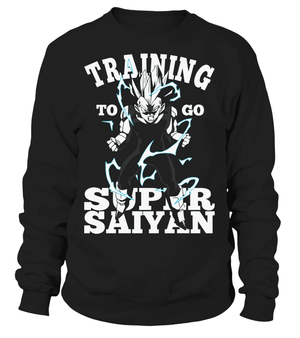 Pull Classique - Sweat Classique Dragon Ball Z Vegeta Training To Go Super Saiyan
