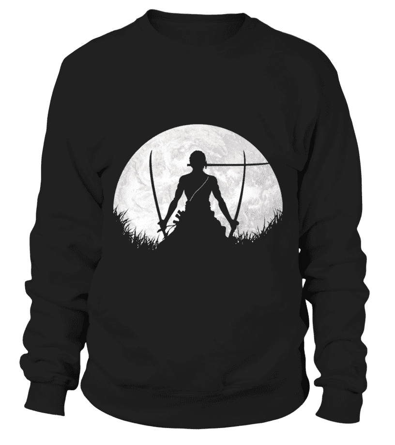 Pull Classique - Sweat Classique One Piece Zoro Moon
