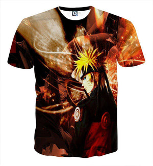 T Shirt 3D - T Shirt All Over 3D Naruto