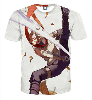 T Shirt 3D - T Shirt All Over 3D Naruto Kakashi Anbu