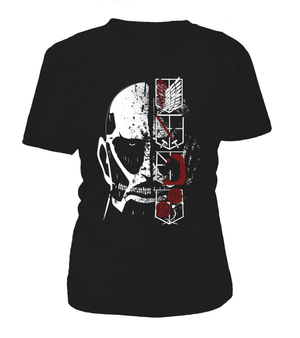 T Shirts Femme - T Shirt Femme Attack On Titans Colossal Titan