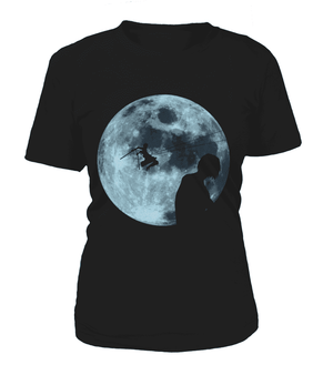 T Shirts Femme - T Shirt Femme Attack On Titans Moon