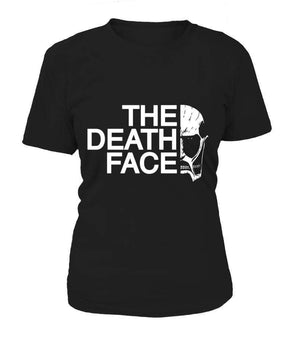 T Shirts Femme - T Shirt Femme Attack On Titans The Death Face