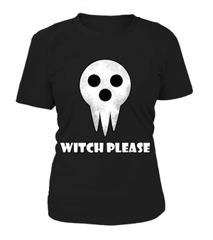 T Shirts Femme - T Shirt Femme Soul Eater Witch Please