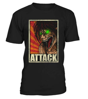 T Shirts Homme - T Shirt Attack On Titans Eren Titan