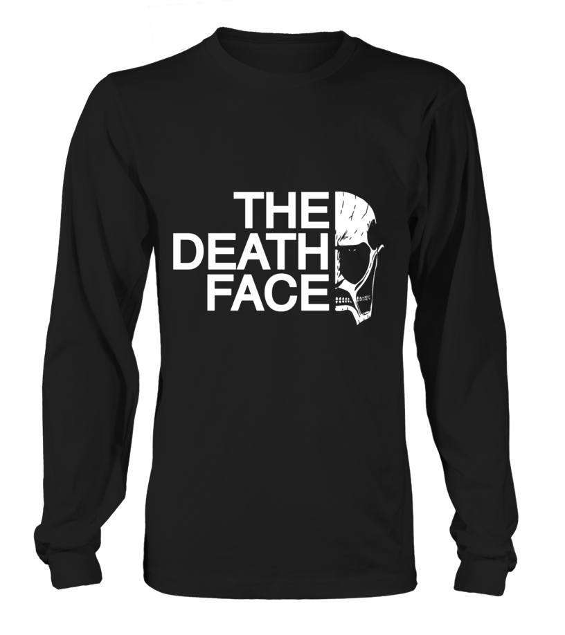 T Shirts Homme - T Shirt Attack On Titans The Death Face