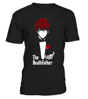 T Shirts Homme - T Shirt Death Note Light The DeathFather
