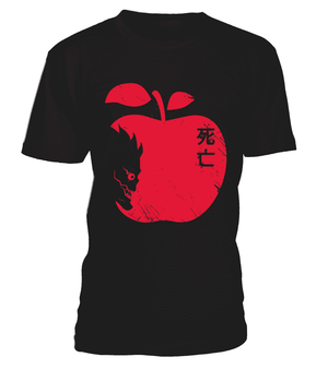 T Shirts Homme - T Shirt Death Note Ryuku Apple