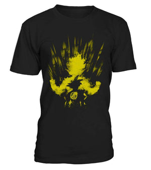 T Shirts Homme - T Shirt Dragon Ball Z Goku Super Saiyan