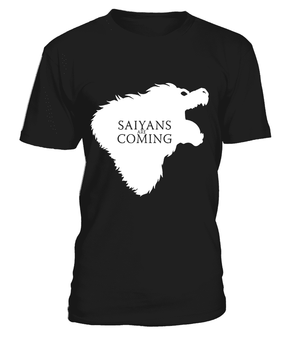 T Shirts Homme - T Shirt Dragon Ball Z Saiyans Are Coming