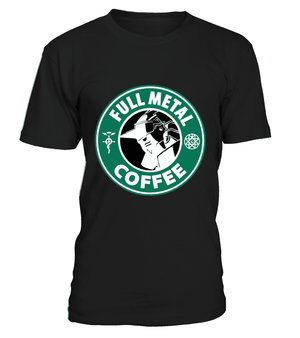 T Shirts Homme - T Shirt Full Metal Alchemist Coffee
