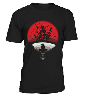 T Shirts Homme - T Shirt Naruto Itachi Attack