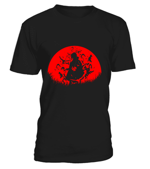 T Shirts Homme - T Shirt Naruto Itchi Moon