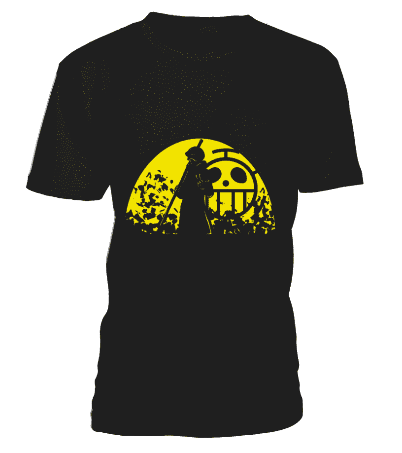 T Shirts Homme - T Shirt One Piece Trafalgar Law Room