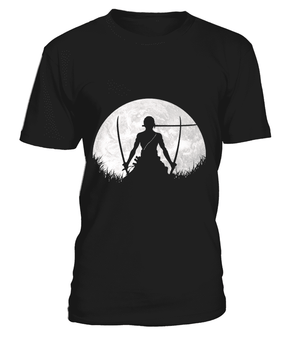 T Shirts Homme - T Shirt One Piece Zoro Moon