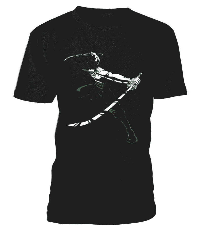 T Shirts Homme - T Shirt One Piece Zoro Swords