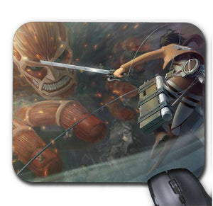 Tapis De Souris - Tapis De Souris Attack On Titan Colossal Titan