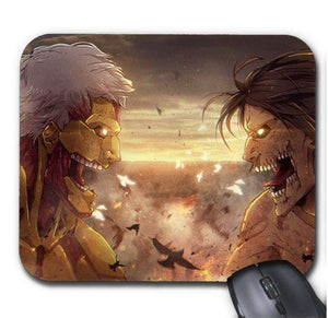 Tapis De Souris - Tapis De Souris Attack On Titan Eren Titan Fight