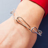 Bracelet - Shape on Shape - Interlocking Tri Circles