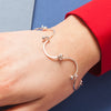 Bracelet - Shape on Shape - Curved Lines