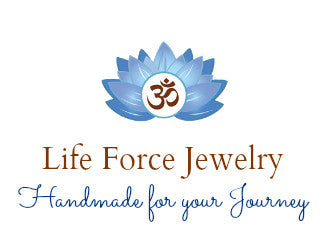 Life Force Energy Shop, Reiki Jewelry, mala beads, gemstone bracelets, yoga jewelry