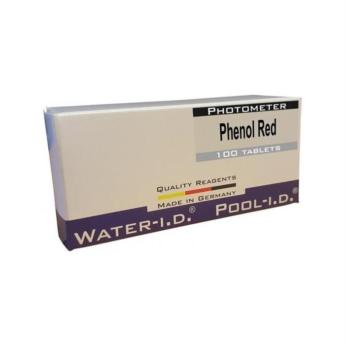 Rezerve Phenol-Red fotometru, 100 tablete pH