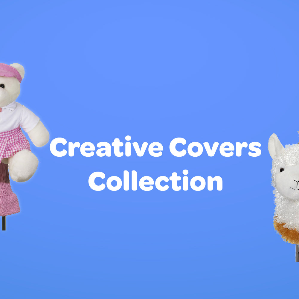 custom creative golf head covers collection