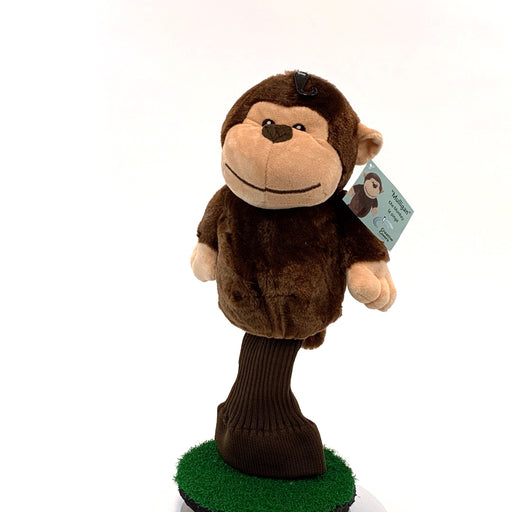 Mulligan the Monkey with a Knit Sock