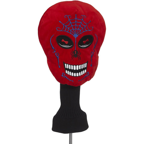 Red Skull Head Cover (44287)