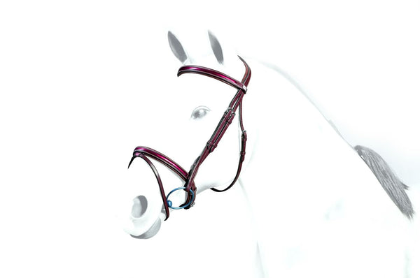 Equipe Patent Leather Flash Bridle (BR36)