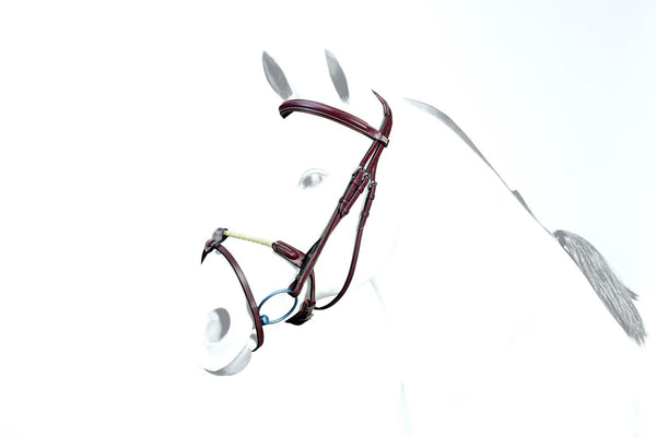 Equipe Flash Bridle with Rope Noseband (BR38)