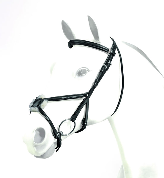 Emporio Grackle Bridle with Stitch Detail (BRE05)