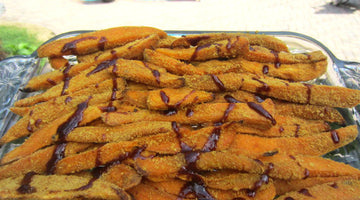 Smart Cracker-Coated Sweet Potato Fries