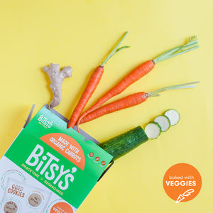 Bitsy's Gingerbread Good Cookies are baked with vegetables