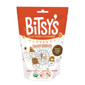 Bag of Bitsy's Sweet Potato Oatmeal Raisin Smart Cookies