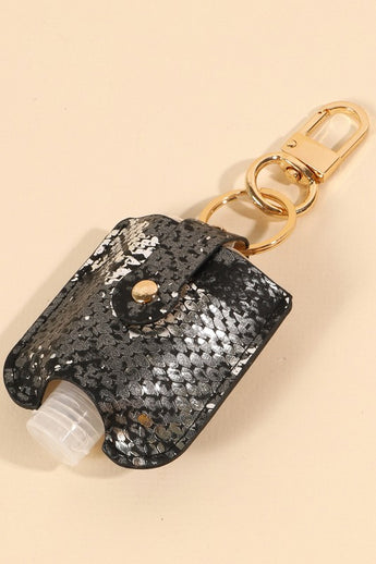Sanitizer with Sequin Case