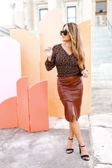 Leather Moment Skirt