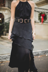 PS The Label- Black High Society Dress