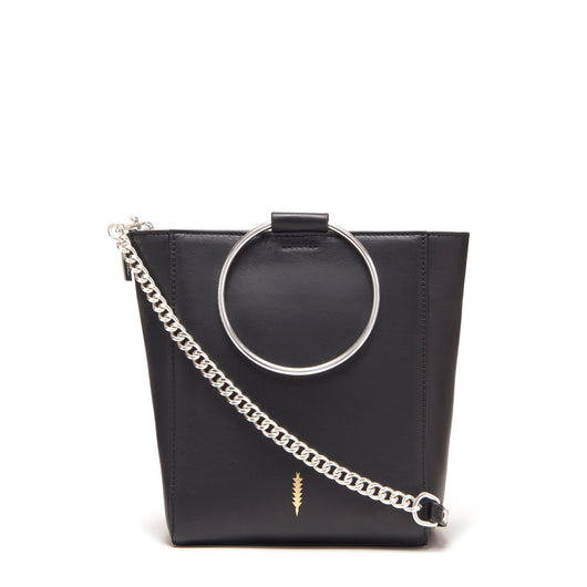 Thacker Le Bucket Bag-Black/Silver