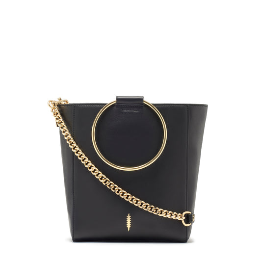 Thacker Le Bucket Bag-Black/Gold