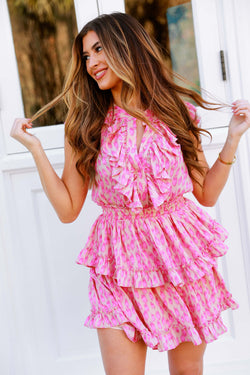 Hot Pink Heartbreaker Dress