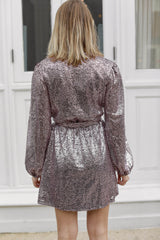 Disco Darling Blush Sequin Dress