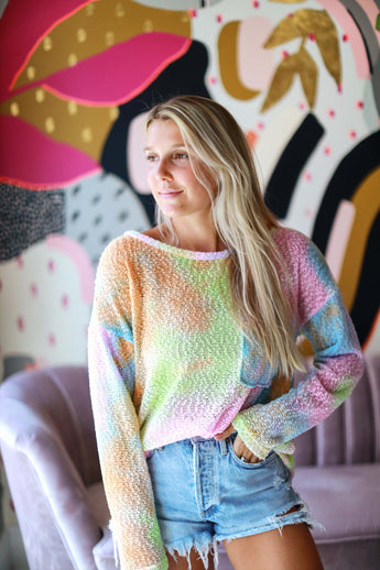 Dreaming in Color Sweater
